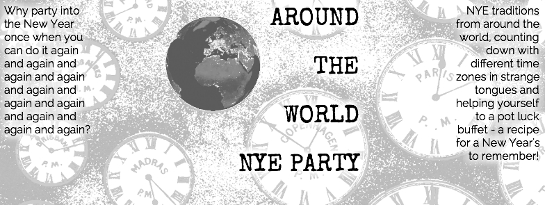 Online Flyer for our NYE party